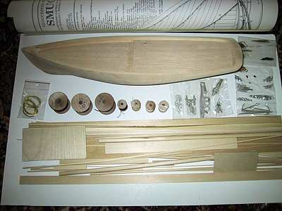The Model Boatyard - Kit Types
