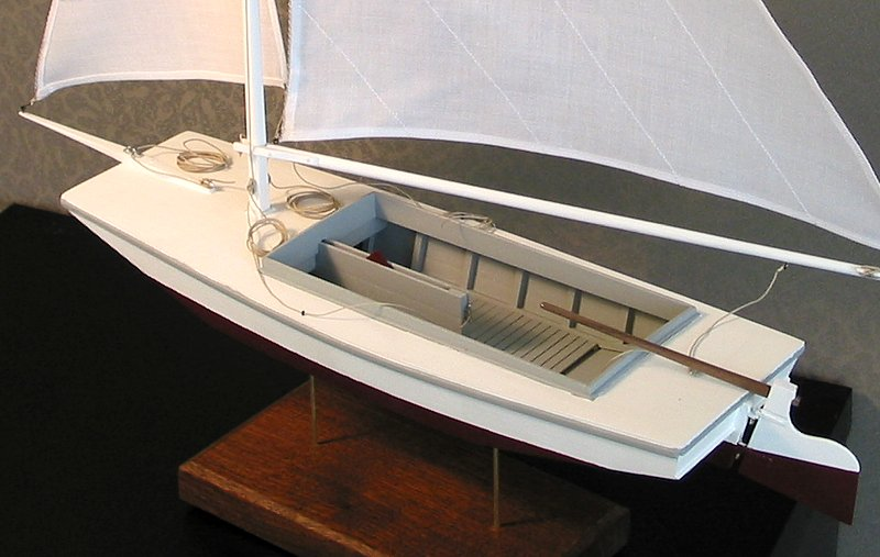The Model Boatyard - St. Michael's Sailing Scow